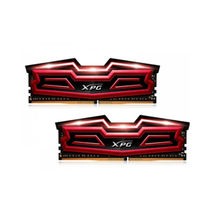 Desktop Ram Adata XPG Dazzle LED 16GB (2 x 8GB) DDR4 2400 Red