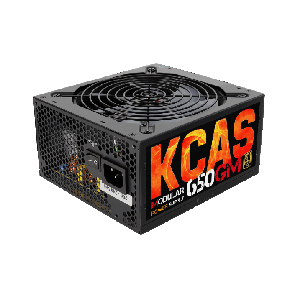 Power Supply Aerocool KCAS-650GM RGB 650W Modular Gold PSU