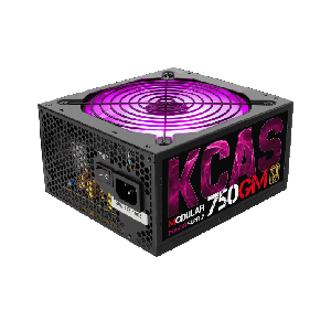 Power Supply Aerocool KCAS-750GM RGB 750W Modular Gold PSU