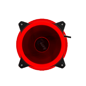 Case Fan Aerocool REV Red Dual Ring 12CM Fan