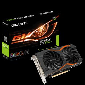 Graphic Card Gigabyte GeForce® GTX 1050 Ti G1 Gaming 4G