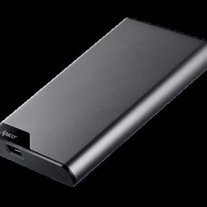External Hard Disk Drive HDD ANTISHOK 1TB APACER 3.1 AC632 GRAY