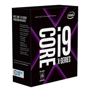 CPU Intel Core i9-7900x 13.75 MB L3 Cache 10 Cores/20 Threads 4.30 GHZ Max Turbo Frequency