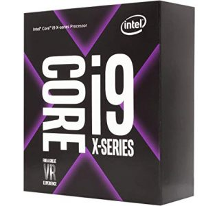 CPU Intel Core i9-9900x 19.25MB SmartCache 10 cores/20 Threads 4.40 Ghz Max Turbo Frequency
