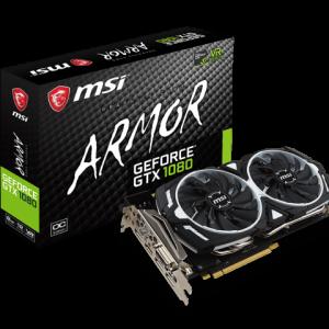 Graphic Card GEFORCE GTX MSI 1080 ARMOR 8G OC