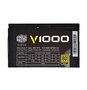 Power Supply Cooler Master Gold 1000W PSU VANGUARD  A/EU CABLE RSA00-AFBAG1-EU
