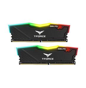 Desktop Ram Team T-Force Delta RGB Series 32GB (2x16GB) DDR4-3200 RGB Black
