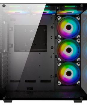 Case Xigmatek Aquarius 6 RGB FANS 1 year Warranty