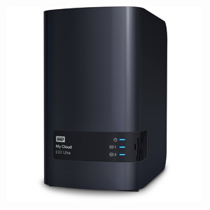 Personal Cloud Storage WD My Cloud EX2 Diskless NAS