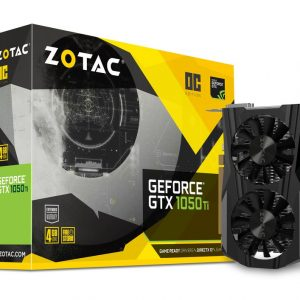 Graphic Card ZOTAC GeForce® GTX 1050 Ti OC Edition