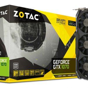 Graphic Card ZOTAC GeForce® GTX 1070 AMP Extreme
