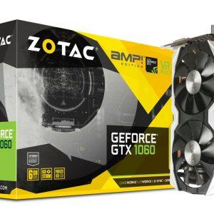 Graphic Card ZOTAC GeForce® GTX 1060 AMP! Edition