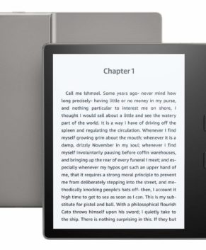 Amazon Kindle paperwhite E-reader - Waterproof, Built-In Audible, 8 GB, Wi-Fi