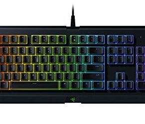 Razer Keyboard Cynosa Chroma  gaming  soft cushioned,  104 backlit gaming keys  Razer Chroma™ Underglowy, spill-resistant design supported