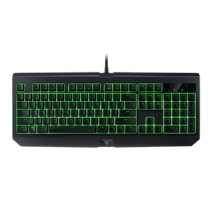 Razer Keyboard Black Widow Ultimate (Green Switch)  Equipped with Razer Mechanical Switches individually backlit keys with dynamic lighting effects RZ03-01703000-R3M1 2years