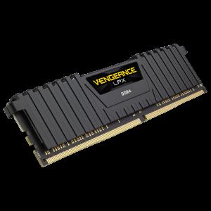 Laptop - Desktop Ram Corsair VENGEANCE® LPX 16GB (1 x 16GB) - (1 x 8GB) DDR4 DRAM 3000MHz C16 Memory Kit - Black