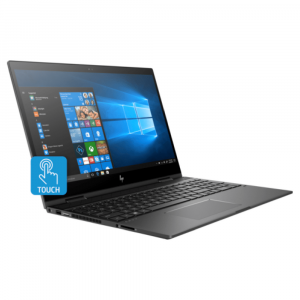 Laptop HP Notebook  4MK09EA 	 Envy 15-cn0001ne 	 Dark ash silver / Convertible   	 Core i7-8550U Quad 	 16GB  	 512GB SSD 	 4GB NVIDIA 	 15.6''  TOUCH UHD 	 Windows 10 	 3 years