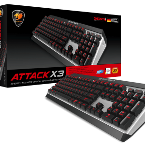 Cougar Gaming Keyboard Attack X3 RGB 1 year Warranty