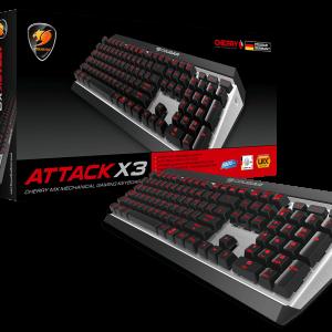 Cougar Gaming Keyboard Attack X3 1 year Warranty