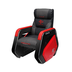Gaming Sofa E-Blue Auroza X1 Grey and Red - EEC328