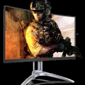 Monitor AOC Screen AG273QCX27'' Gaming 144Hz Curve