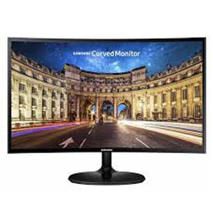 Monitor Samsung Screen LC24F390FHMXZN 24″ Full HD LED Curved Monitor (1X VGA + 1X HDMI Port) – HDMI cable not included