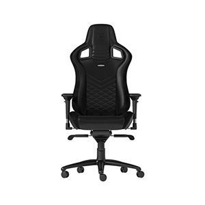 NobleChair EPIC Gaming Chair Black / Red - EPIC Gaming Chair Black - Gaming Chair White / Black