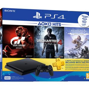 Sony PlayStation 4 PS4 500GB 1 Controller 3 Games