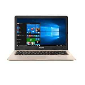 Laptop Asus Notebook Vivobook Pro Gold Metal i7-7700HQ 16 / 1TB +128 / 1050 GTX / 15.6