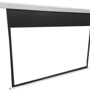 MOTOR SCREEN Projector 400 X 300 WITH REMOTE CONTROL