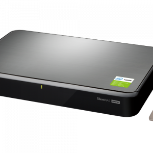 QNAP TurboNAS Home/SOHO Series Silent, fanless NAS with HDMI output for best audiovisual experience