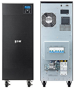UPS  9E6KiEaton Online Double Conversion 9E 6000VA / 4800W, In-Built Automatic Relay Bypass, Intelligent Power Software, 1 USB port + 1 RS232 serial port (USB and RS232 ports cannot be used simultaneously), 1 slot for Network-MS, ModBus-MS or Relay-MS cards, 1 Year Warranty