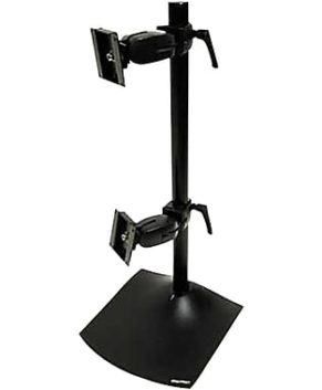 Ergotron DeskStands DS100 Dual Vertical DeskStand (black)