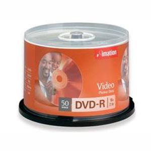 50X Imation 16X DVD-R Blank 4.7GB