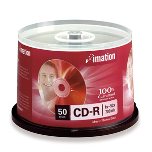 50X Imation CDR Blank 700MB 56X