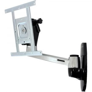 Ergotron Large Display Mounting Kits LX HD Wall Mount Swing Arm (polished aluminum)