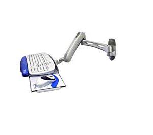 Ergotron Misc Mounting Kits LX Wall Mount keyboard Arm (silver)