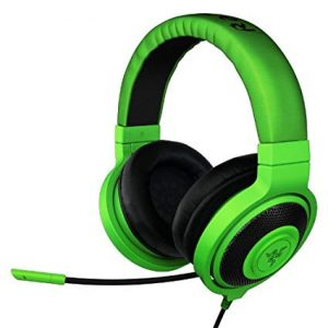Razer Headset Kraken New 2019 Edition Available in Black and Green Color RZ04-02830100-R3M1 - RZ04-02830200-R3M1 2years
