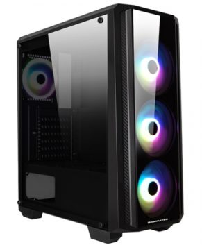 Computer Case Xigmatek Sirocon II EN41794 4 Fans LED RGB 1 year Warranty