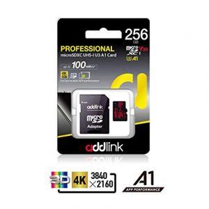 addlink 256GB microSD UHS-I V30 U3 A1(with Adapter) ad256GBMSXU3A