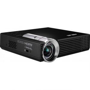 ASUS P2E Portable LED Projector, 350 Lumens, WXGA (1280*800), Short Throw, Auto Keystone Correction, HDMI/MHL 90LJ0030-B03020