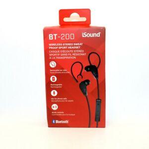 iSound BLUETOOTH Earphones DGHP-5606 845620056064 BT-200
