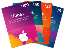 Itunes Card 25$ Value