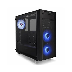 Case ThermalTake CA-1L5-00M1WN-01 Versa J22 TG Tempered Glass RGB