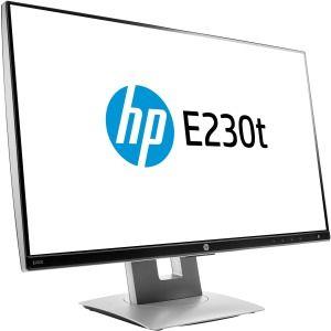 Monitor Hp Screen W2Z50AA E230t 23-in TouchMNT 1920*1080 - 178*178  \ Tilt \ Swivel \ Pivot \ VGA \ HDMI \ DP 3Years