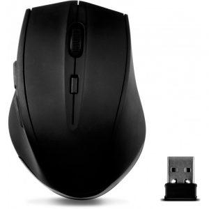 SL-630009-RRBK SpeedLink CALADO SILENT & ANTIBACTERIAL MOUSE - WIRELESS USB, RUBBER-BLACK