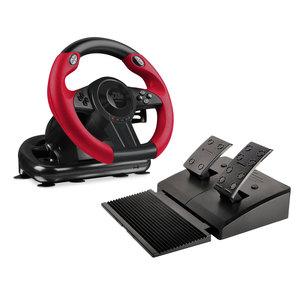 SL-450500-BK SpeedLink TRAILBLAZER RACING WHEEL FOR PS4/XBOX ONE/PS3/PC, BLACK