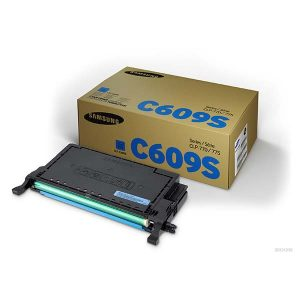 Samsung Toner CLT-C609S/SEE SU085A Cyan Toner for CLP-770ND