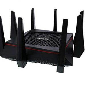 ASUS RT-AC5300 Tri-Band Wi-Fi Gigabit Router – For Gamers  90IG0201-BU9G00
