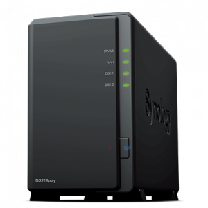 Synology DiskStation DS218play personal multimedia library 2years Synology NAS - DS218play